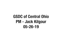 GSDC of Central Ohio 20190526 PM