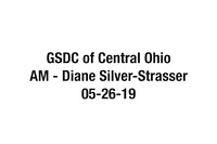 GSDC of Central Ohio 20190526 AM